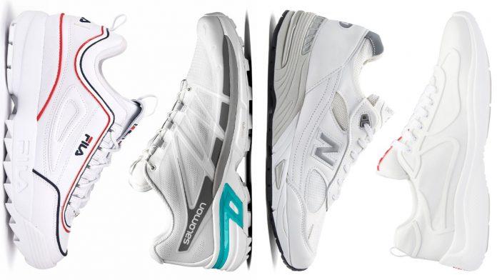 10 λευκά ζευγάρια sneakers για να βγάλεις άνετα τον φετινό Χειμώνα