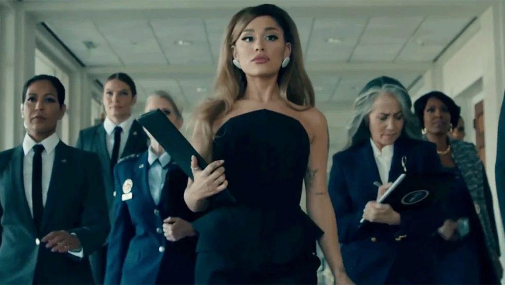 H Ariana Grande «έγινε» η πρώτη γυναίκα πρόεδρος των ΗΠΑ