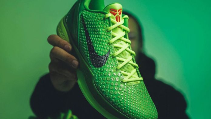 Από τον Άγιο Βασίλη θα ζητήσεις τα Nike Kobe 6 Protro «Grinch»