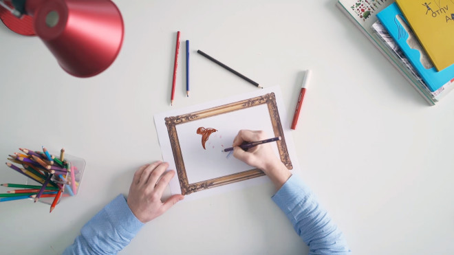 διαγωνισμός ζωγραφικής στο Μουσείο Κυκλαδικής Τέχνης