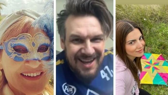 Πώς πέρασαν οι Έλληνες celebrities την Καθαρά Δευτέρα;