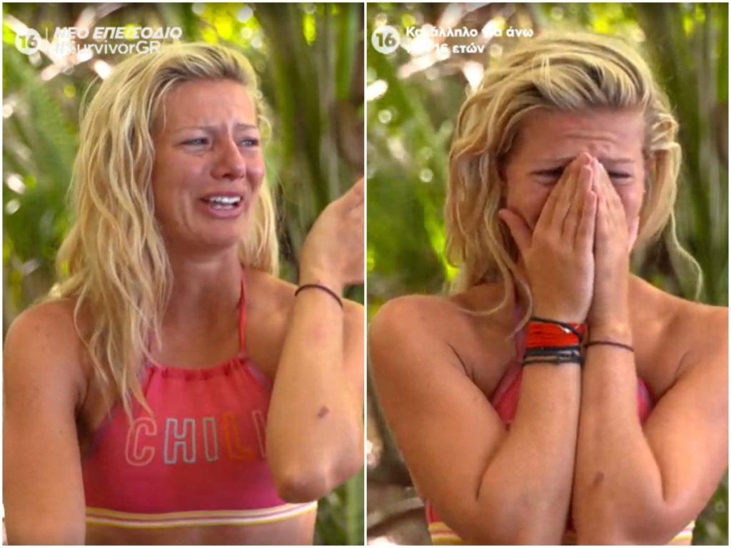 Survivor: Ξέσπασε σε κλάματα η Ελένη Χαμπέρη – Τι συνέβη;