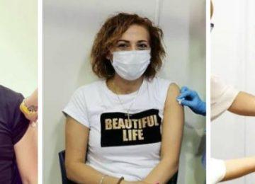 Ο ένας μετά τον άλλον εμβολιάζονται οι Κύπριοι αστέρες - Τα μηνύματα τους