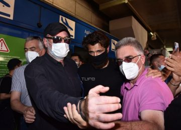 Survivor: Επέστρεψε στην Ελλάδα ο Νίκος Μπάρτζης