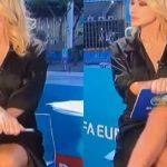 «Βασικό ένστικτο» ζωντανά στην ιταλική τηλεόραση από την Paola Ferrari