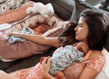Xριστίνα Μπόμπα: Τα Δίδυμα Την Κρατούν Άυπνη