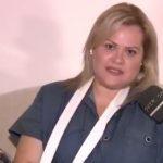 Η Χρίσλα Γεωργακοπούλου δέχτηκε επίθεση από ταξιτζή: Έχω κάκωση στο μπράτσο