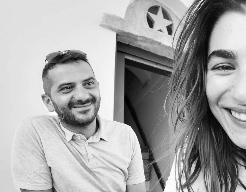 Λεωνίδας Κουτσόπουλος – Χρύσα Μιχαλοπούλου: Το ερωτευμένο ζευγάρι πήγε για ψάρεμα