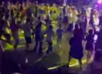 Λιβαδειά: Διακόπηκε η συναυλία μετά από αυτές τις εικόνες