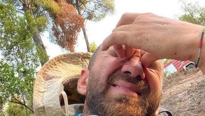 Κώστας Αναγνωστόπουλος: Πόνεσαν τα ματάκια μας με τον καπνό