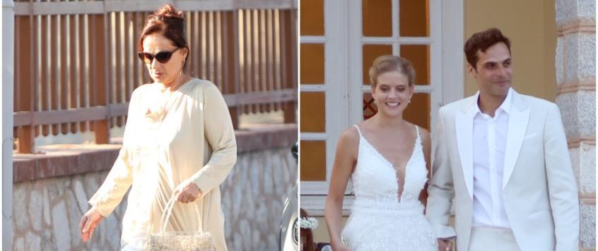 Η τρυφερή ανάρτηση της Φιλαρέτης Κομνηνού για τον γάμο του γιου της με τη Δανάη Μιχαλάκη