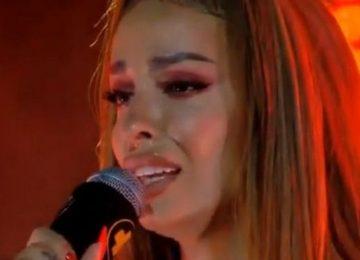 Λύγισε η Φουρέιρα στην πρώτη συναυλία μετά τον θάνατο του Mad Clip