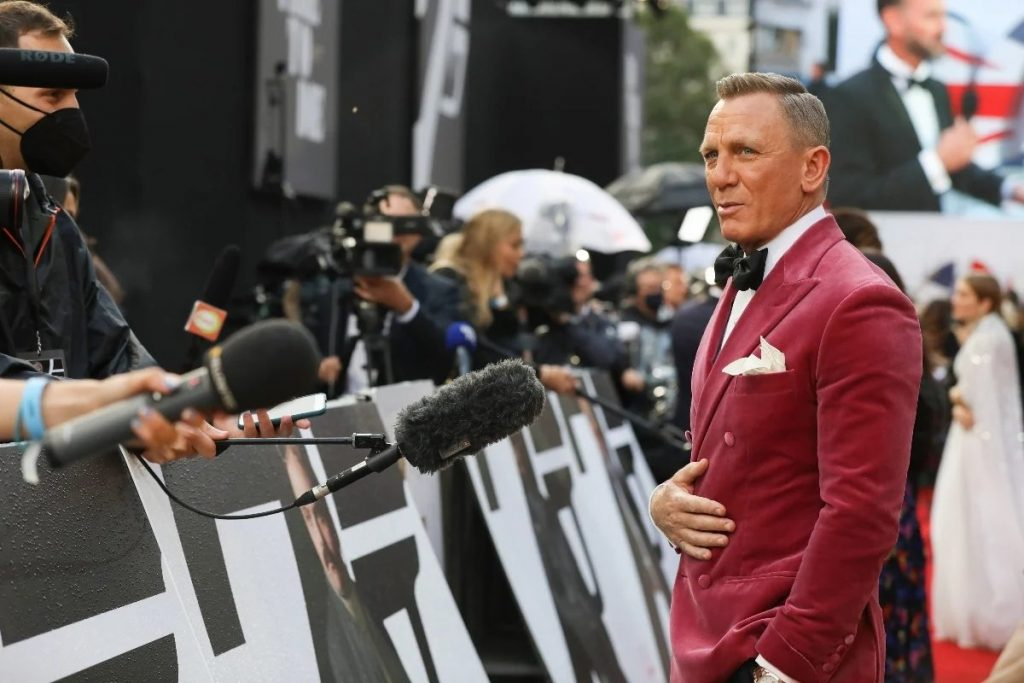 James Bond: Λάμψη αστέρων στην πρεμιέρα της νέας ταινίας