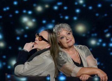 Η Τάνια Τσανακλίδου και η Λίνα Νικολακοπούλου στα Σχήματα των Αστεριών
